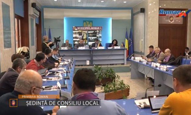 Sedinţa Ordinară a Consiliului Local al Municipiului Roman 28 Noiembrie 2017
