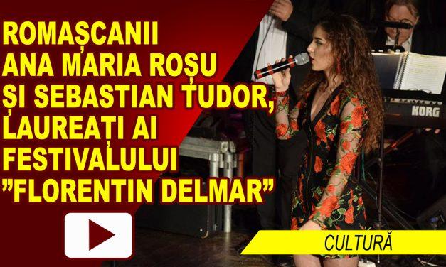 """ROMAȘCANII ANA MARIA ROȘU ȘI SEBASTIAN TUDOR, LAUREAȚI AI FESTIVALULUI  """"FLORENTIN DELMAR"""""""