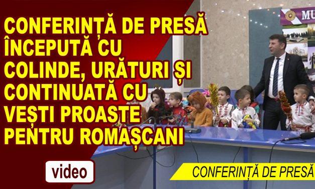 CONFERINTA DE PRESA PRIMARIA ROMAN 20.12.2017