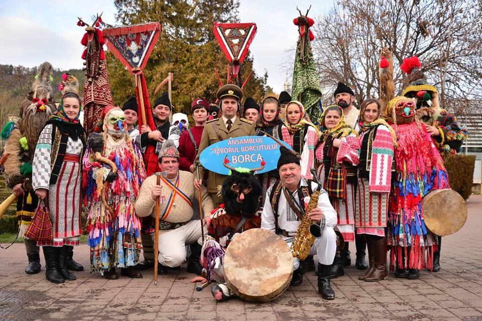 """Prima zi a Festivalului de datini si obiceiuri de iarnă """"Steaua sus răsare"""", 2017"""