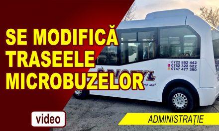 SE MODIFICĂ TRASEELE MICROBUZELOR