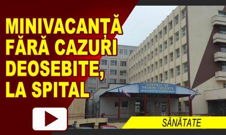MINIVACANȚĂ FĂRĂ CAZURI DEOSEBITE LA SPITAL