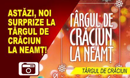 Luni, 25 decembrie, la Targul de Craciun