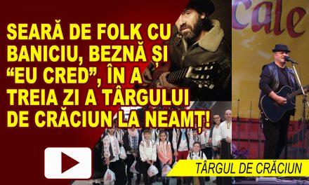 """SEARĂ DE FOLK ŞI COLINDE CU BANICIU, BEZNĂ ŞI ASOCIAŢIA """"EU CRED"""""""
