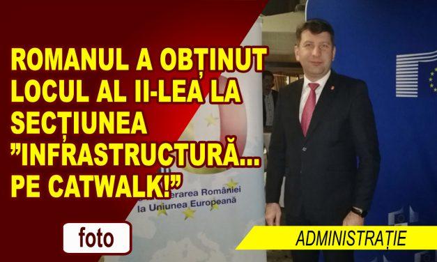 """Romanul a obținut locul al II-lea la secțiunea """"Infrastructură… pe catwalk!"""""""