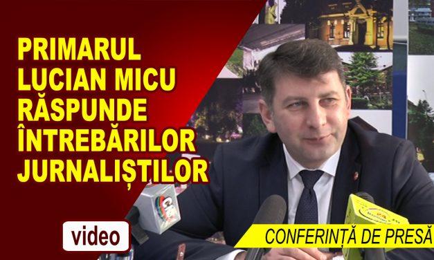 CONFERINȚĂ DE PRESĂ PRIMĂRIA ROMAN 17.05.2018