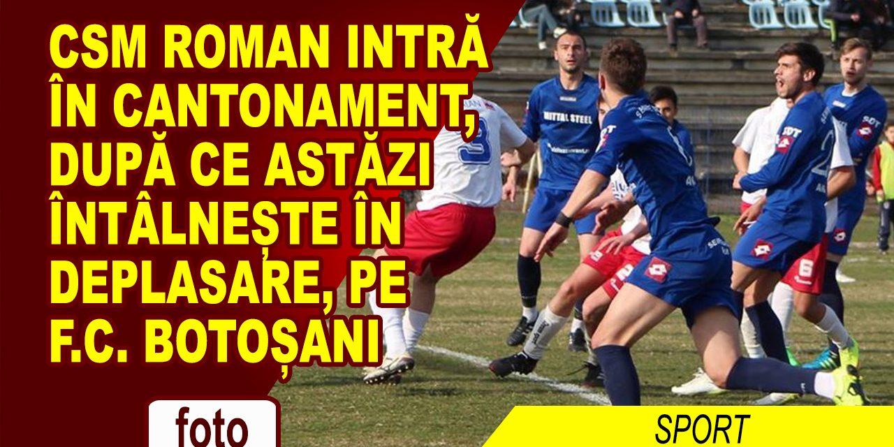 Super meci de pregatire pentru CSM Roman