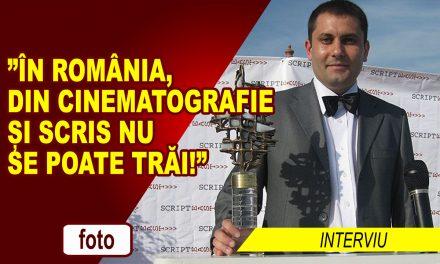"""""""În România, din cinematografie și scris nu se poate trăi!"""" – interviu cu cineastul Ioan Antoci"""