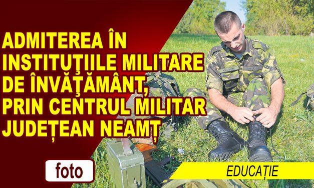 Alege cariera militară!