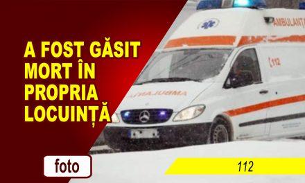 A FOST GĂSIT MORT ÎN PROPRIA LOCUINȚĂ