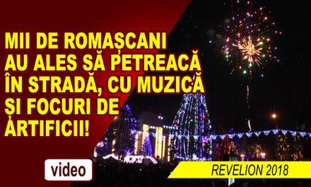 MII DE ROMAȘCANI ÎN STRADĂ, CU MUZICĂ ȘI FOCURI DE ARTIFICII!