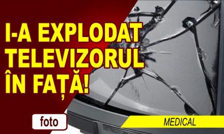 CULMEA GHINIONULUI! A FOST NENOROCIT DE EXPLOZIA UNUI TELEVIZOR!