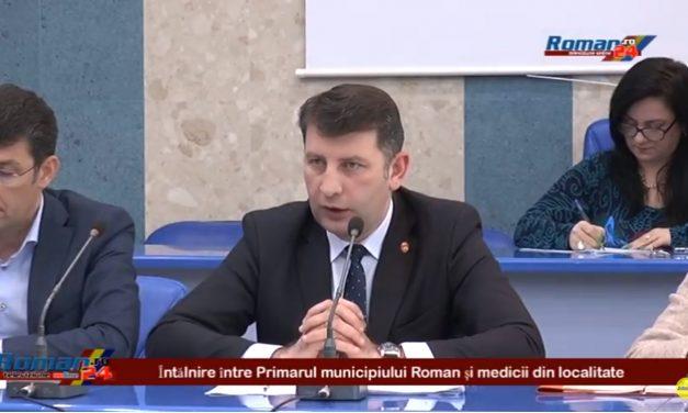 Intalnire intre Primarul Lucian Micu si medicii din localitate
