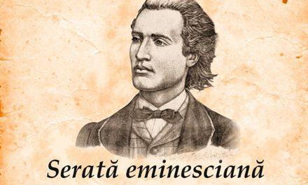 Recital muzical intitulat SERATĂ EMINESCIANĂ