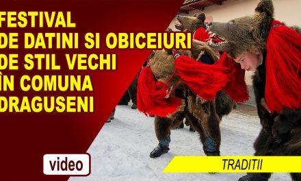 Festival de datini si obiceiuri de stil vechi în comuna suceveană Draguseni