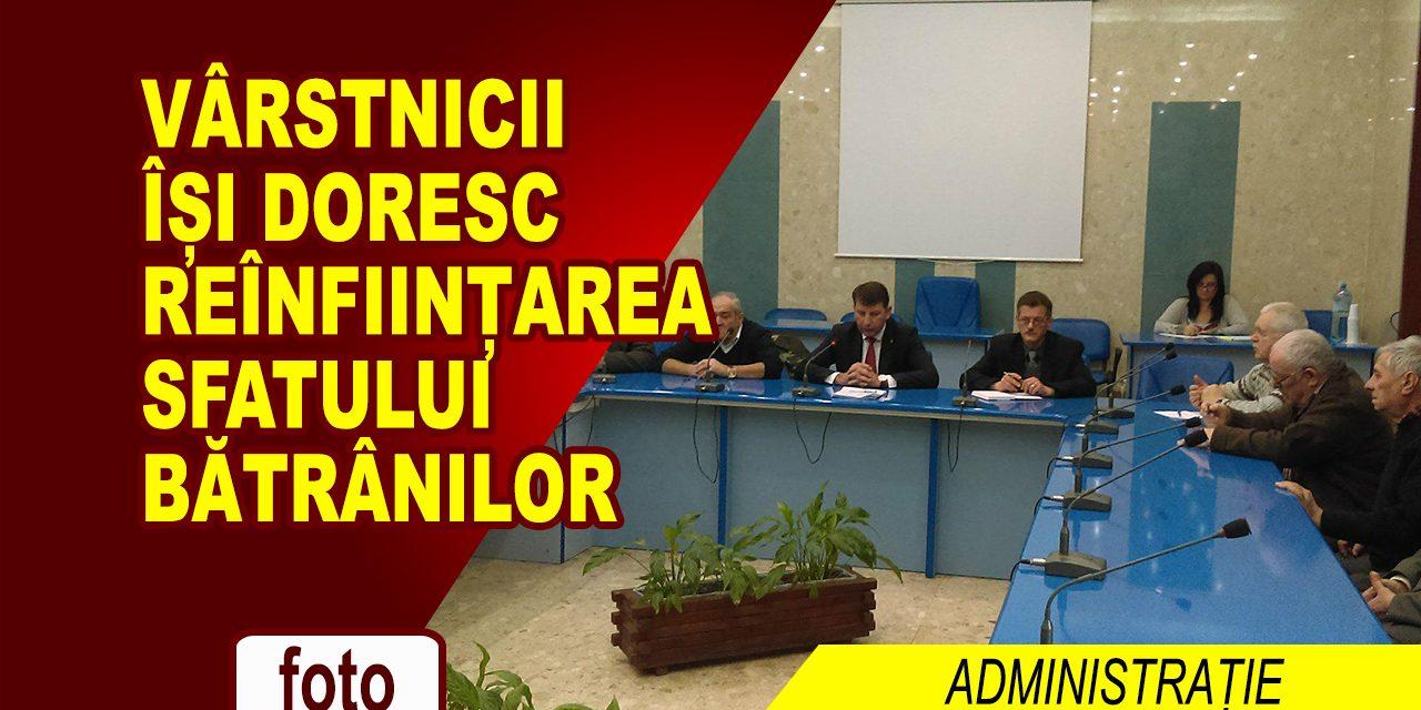 PRIMARUL S-A INTALNIT CU VARSTNICII MUNICIPIULUI ROMAN