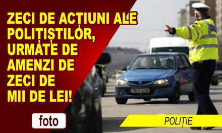 ZI PLINĂ PENTRU POLIȚIȘTI