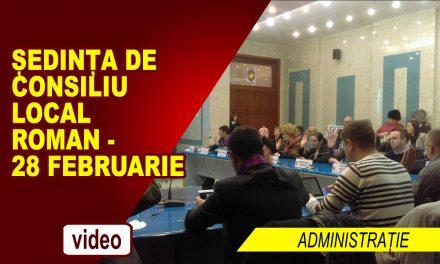 Sedinta de Consiliu Local 28.02.2018
