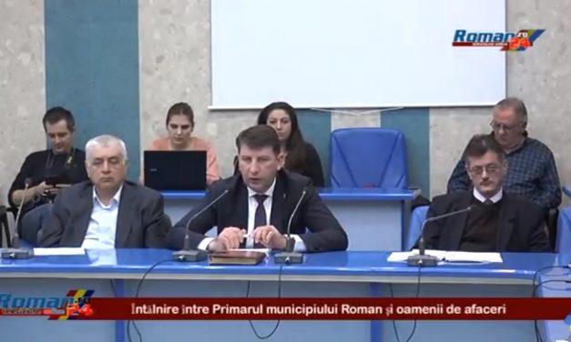 Intalnire intre primarul Lucian Micu si oamenii de afaceri