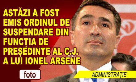 IONEL ARSENE, SUSPENDAT!