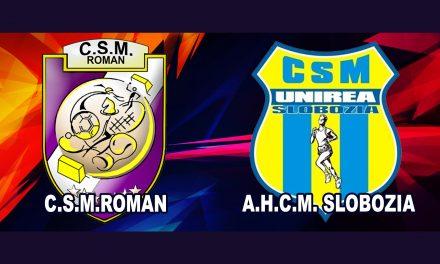 C.S.M.Roman vs. A.H.C.M.Slobozia