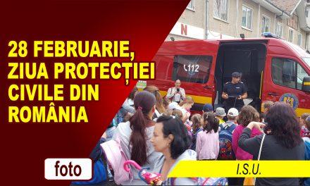 28 FEBRUARIE – ZIUA PROTECȚIEI CIVILE DIN ROMÂNIA