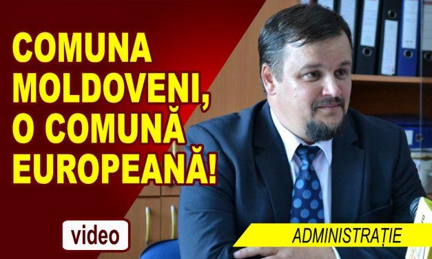 Comuna Moldoveni, proiecte 2018