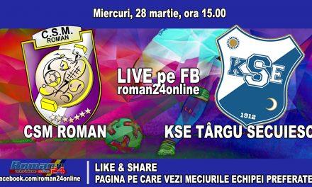CSM ROMAN – KSE TARGU SECUIESC