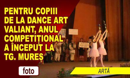 A ÎNCEPUT ANUL COMPETIȚIONAL PENTRU DANCE ART VALIANT