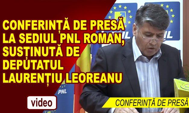 Conferinţă de presă – Deputat PNL Dan Laurenţiu Leoreanu 16 martie 2018