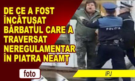IPJ NEAMȚ VINE CU PRECIZĂRI LA MODUL ÎN CARE AU ACȚIONAT POLIȚIȘTII DIN PIATRA NEAMȚ