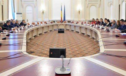 Ședința Comisiei Românilor de pretutindeni din Senatul României