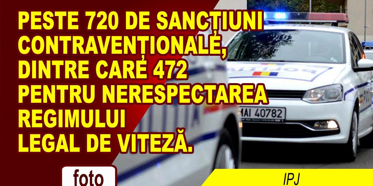 CAMPANIE PENTRU REDUCEREA ACCIDENTELOR PRODUSE PE FONDUL NERESPECTĂRII REGIMULUI LEGAL DE VITEZĂ