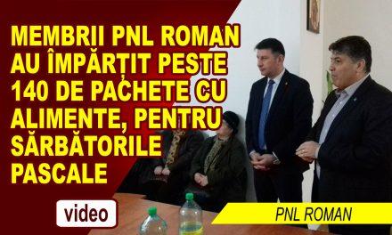 PNL ROMAN – GEST DE UMANITATE CU OCAZIA SARBATORILOR PASCALE