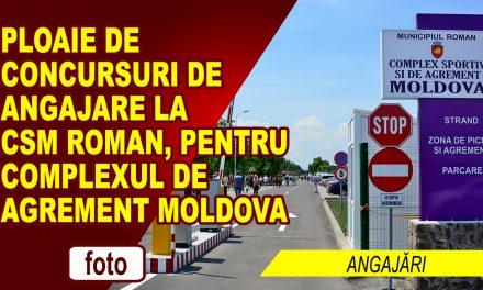 PLOAIE DE JOBURI LA CSM ROMAN!