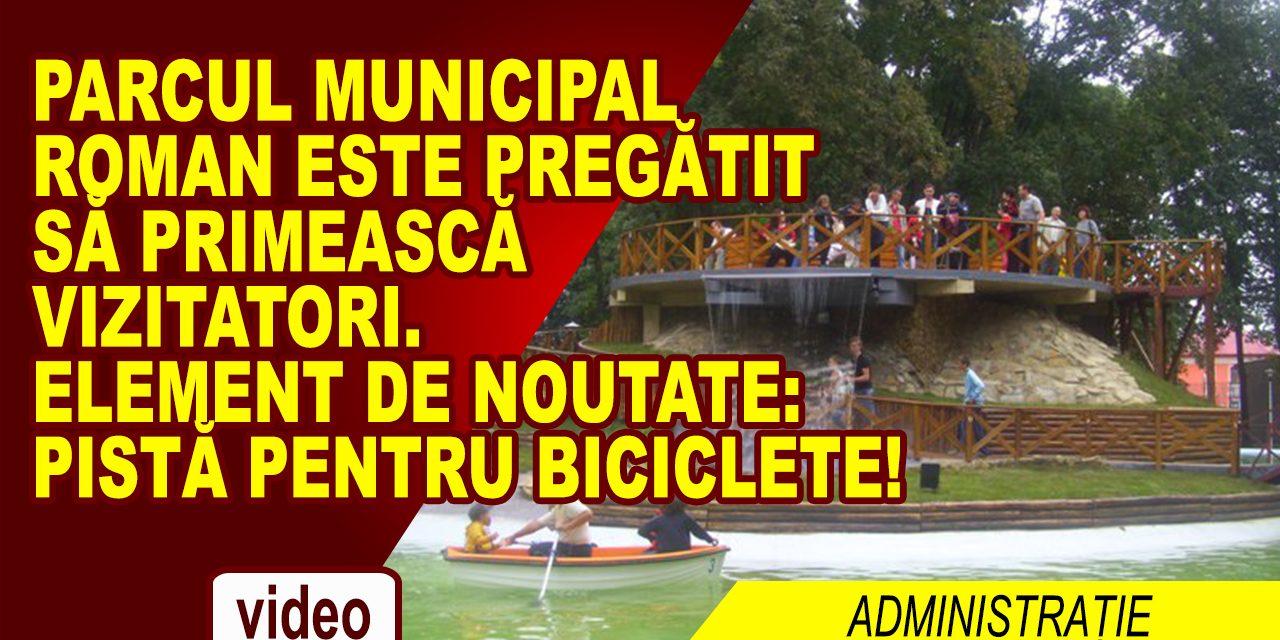 PARCUL MUNICIPAL ESTE PREGATIT SA PRIMEASCA VIZITATORI