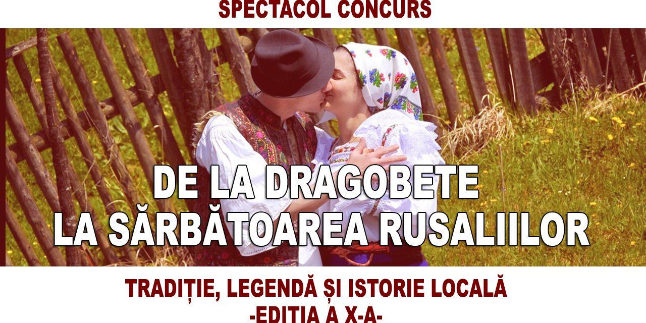 """Câștigătorii spectacolului concurs """"De la Dragobete la sărbătoarea Rusaliilor"""" – Tradiție, legendă și istorie locală, ediția a X-a"""