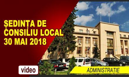 SEDINTA DE CONSILIU LOCAL 30 MAI 2018