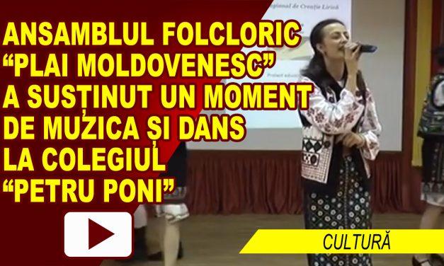 "Ansamblul Plai Moldovenesc la Concursul ""Dor de Poezie"""