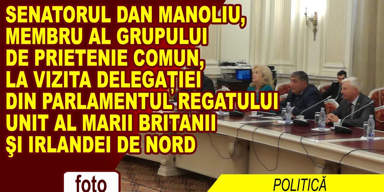 Vizita delegației Grupului de prietenie cu România din Parlamentul Regatului Unit al Marii Britanii şi Irlandei de Nord