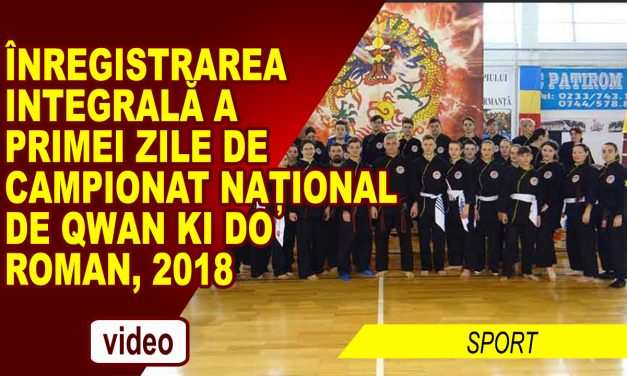 Campionat National de QWAN KI DO Juniori si Seniori – Ziua I