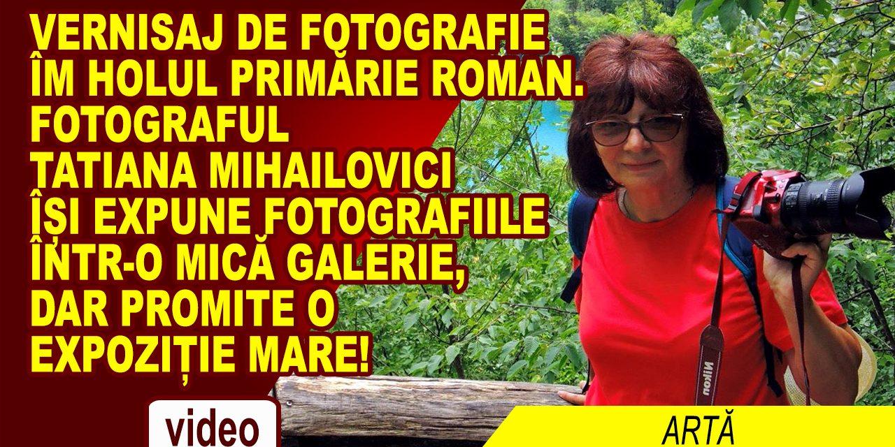 Tatiana Mihailovici – o viață de fotografie într-o galerie