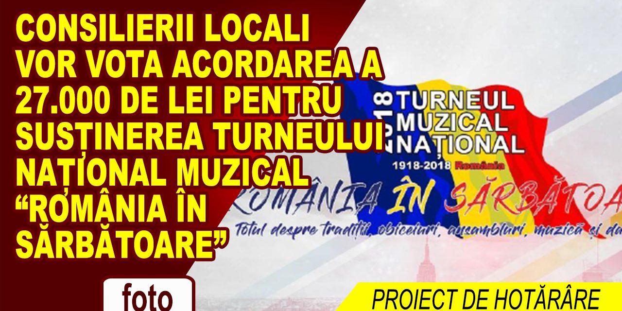 """În perioada 15-17 iunie 2018: Turneul muzical național """"România în Sărbătoare"""", va costa Primăria Roman 27.000 lei."""