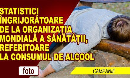 STATISTICA ORGANIZAȚIEI MONDIALE A SĂNĂTĂȚII: ROMÂNII AU PROBLEME CU ALCOOLUL
