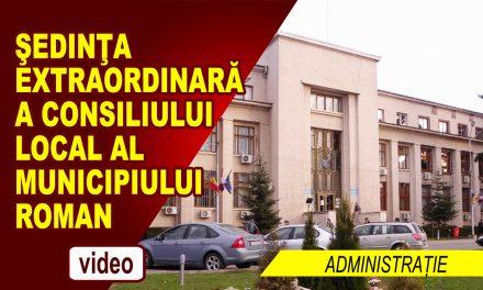 ȘEDINȚĂ EXTRAORDINARĂ DE CONSILIU LOCAL 15 IUNIE 2018