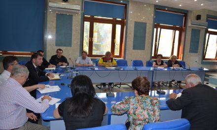 Întâlnire de lucru cu conducerile unităților de învățământ pe tema lucrărilor ce trebuie efectuate la finalul de an școlar