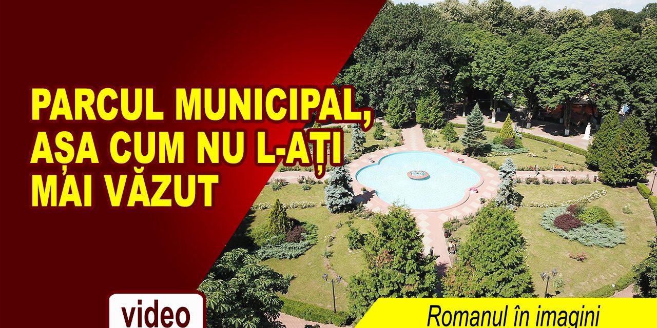 Romanul in imagini – Parcul Municipal, vedere aeriană