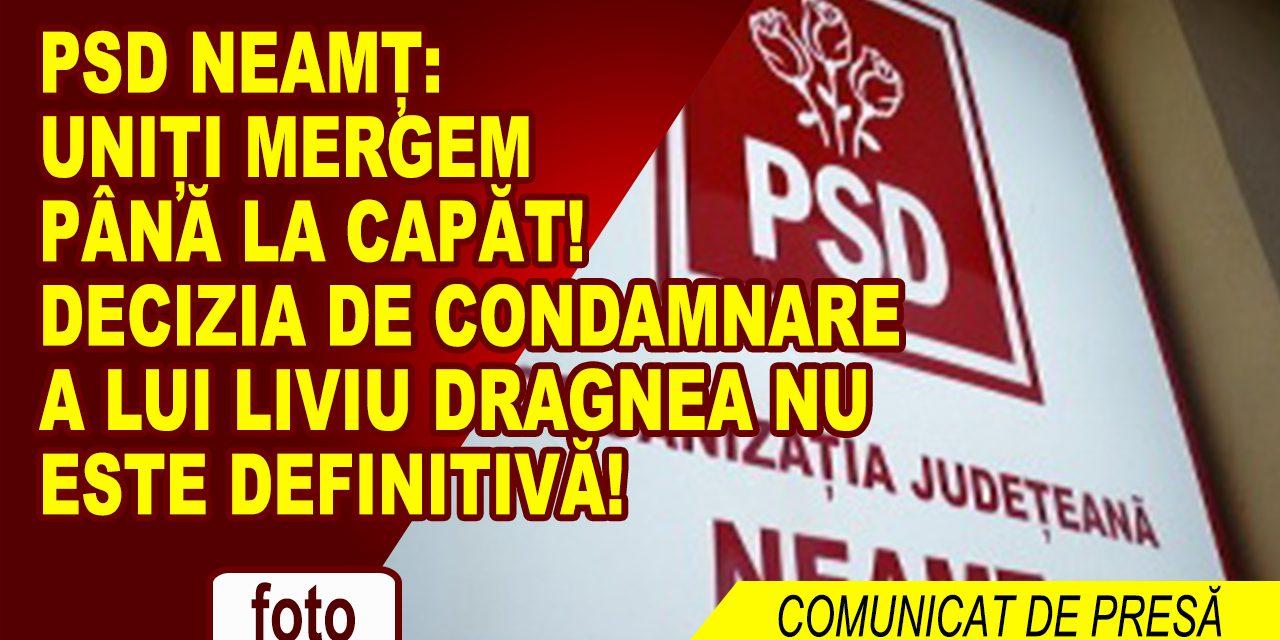 PSD Neamț: Uniți mergem până la capăt!