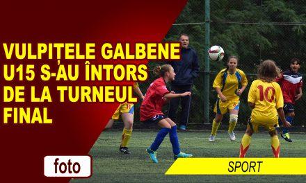 Vulpițele Galbene U15 s-au întors de la turneul final