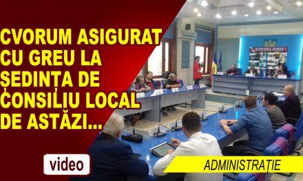 Ședință Extraordinară de Consiliu Local 29 IUNIE 2018